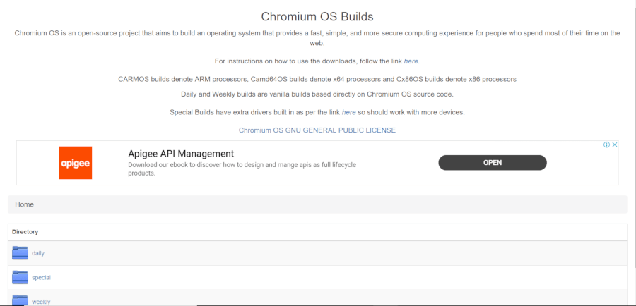 Download Chromium OS