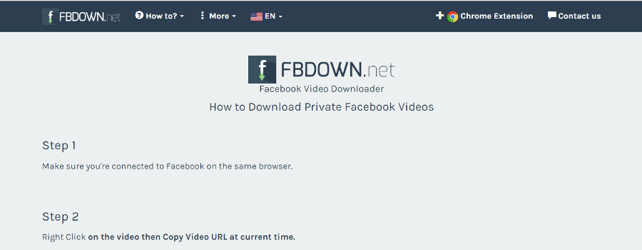 FBDown.net- Private Videos