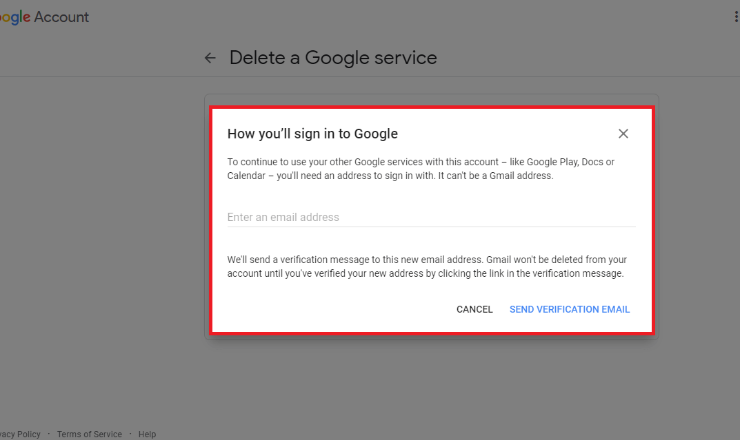 Gmail Sign-in