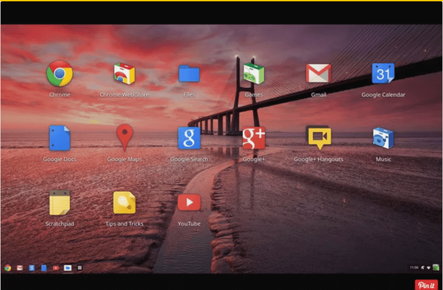 Google Chromium OS Running from USB