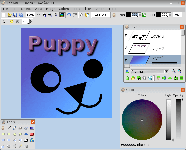 LazPaint - Image Editor with Layers