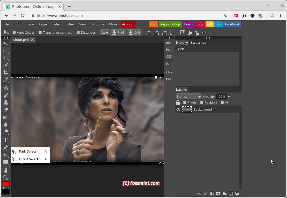 Photopea Online Image Editor