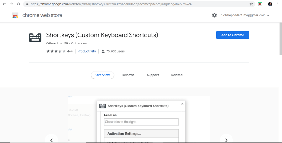 Remembering Common Keyboard Shortcuts