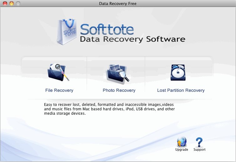 Softtote Data Recovery Software