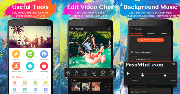 Android Video Editors and Makers