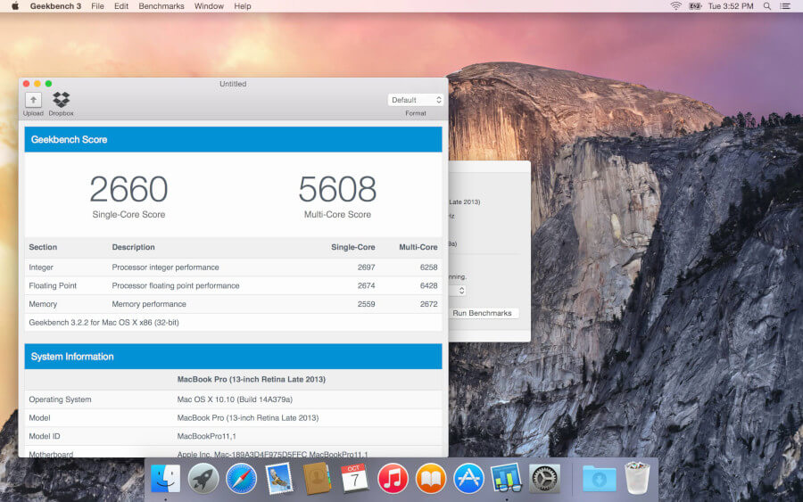 Geekbench Measures Mac Performance