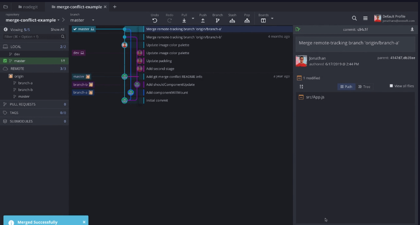 Gitkraken GUI GIT For Mac