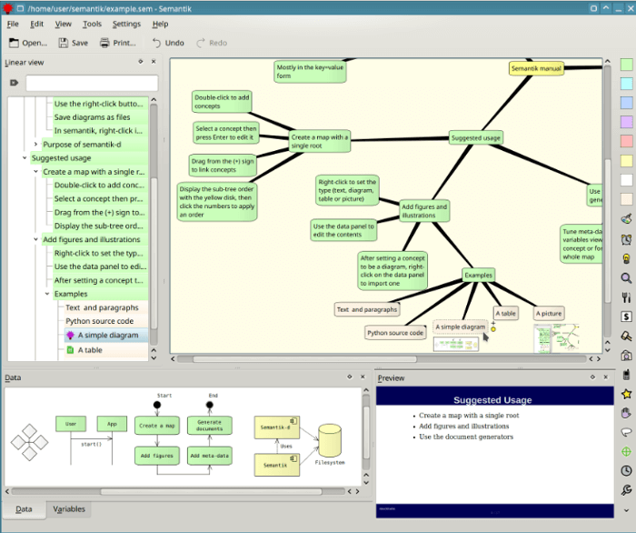 10 Excellent Free Mind Mapping Software for Linux Users