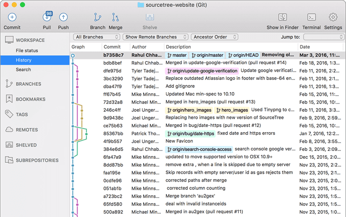 Sourcetree GUI GIT For Mac