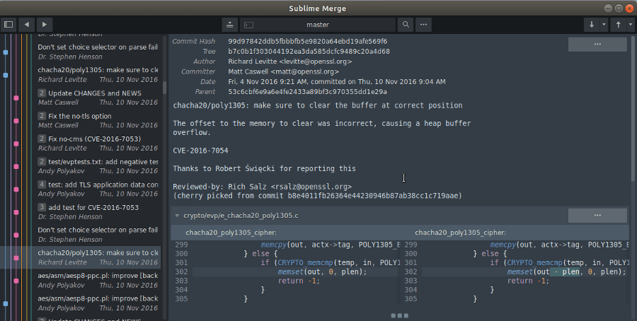 Sublimemerge GUI GIT For Mac