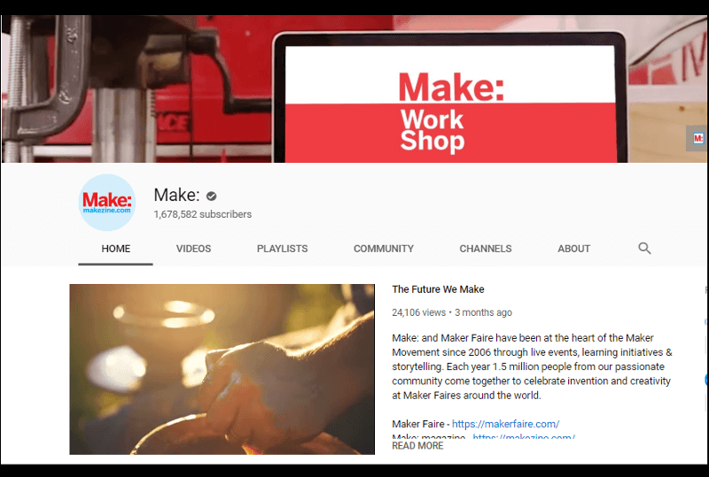 Make: YouTube Channel