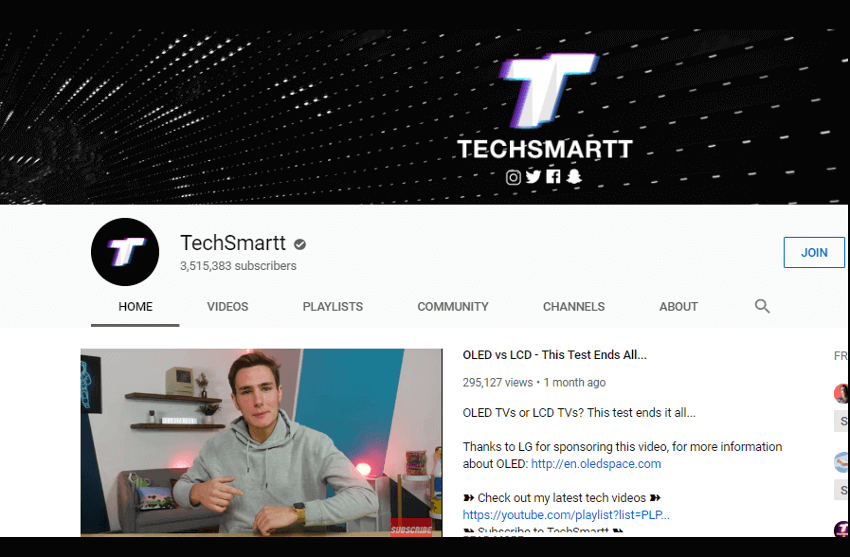 TechSmartt - YouTube Channel
