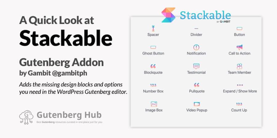 Stackable – Gutenberg Blocks
