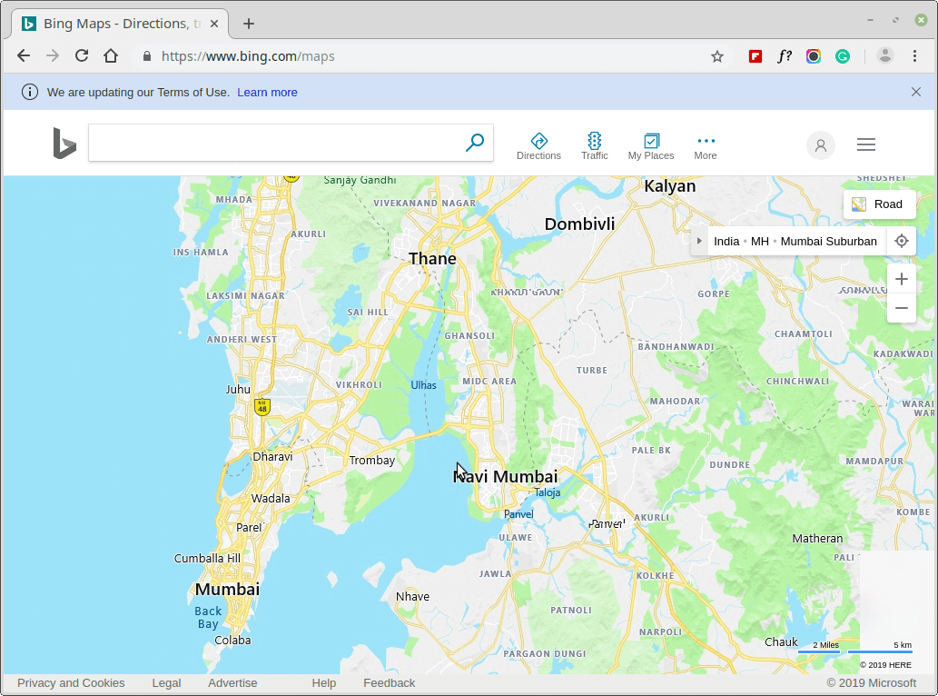 Bing Maps - Directions, trip planning, traffic cameras & more