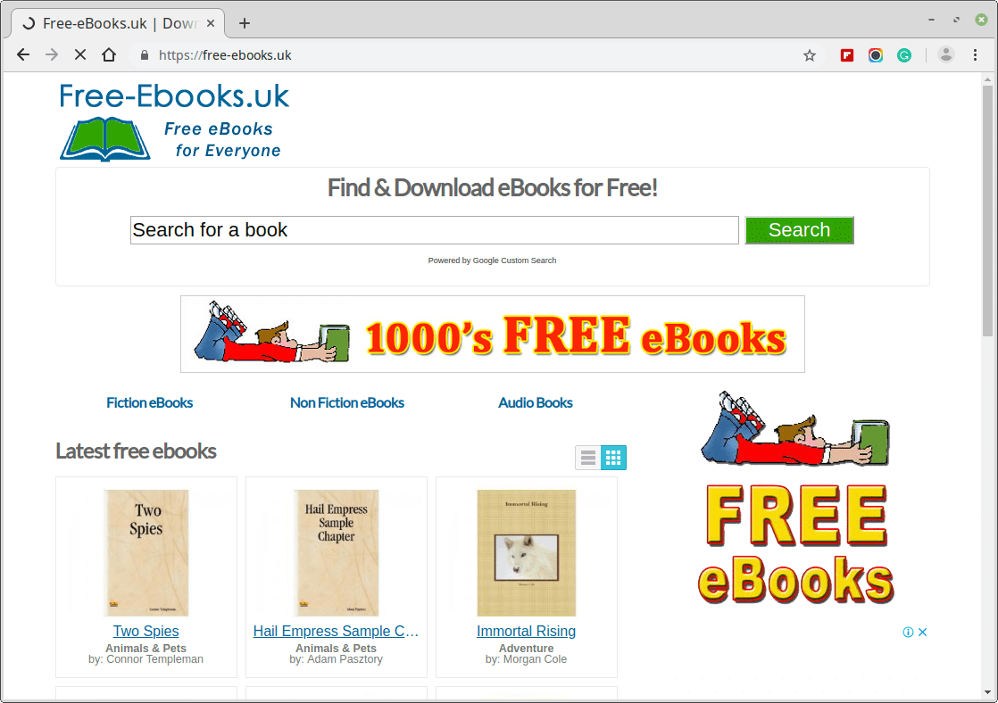 Free eBooks for Everyone
