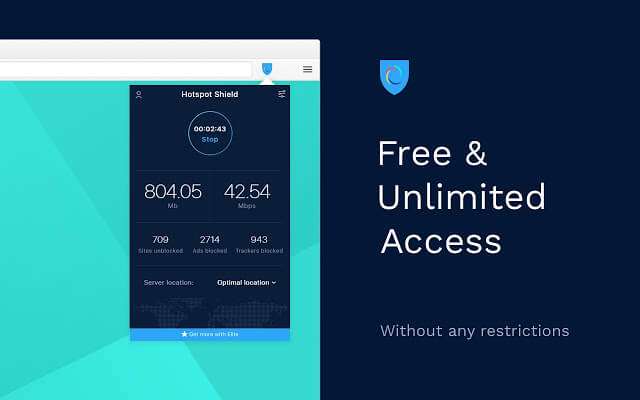 Hotspot Shield VPN Extension