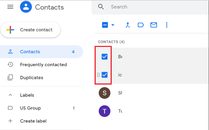 Add Gmail Contact To Group