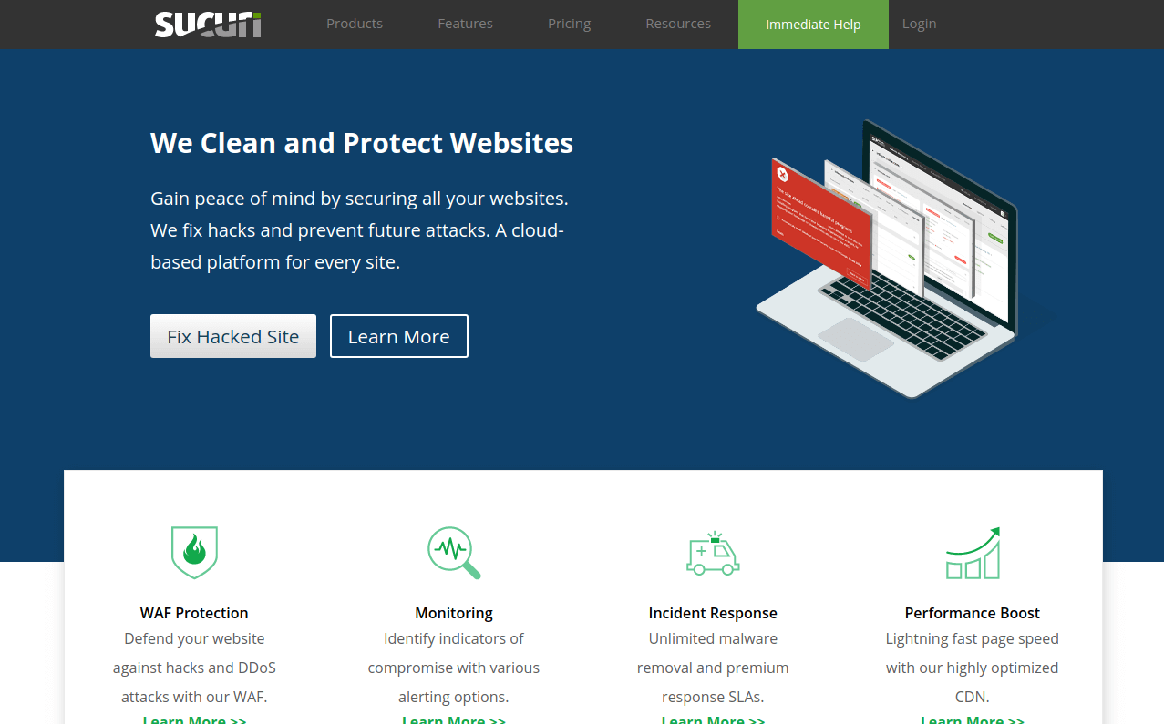 Sucuri - Website Security Protection Monitoring