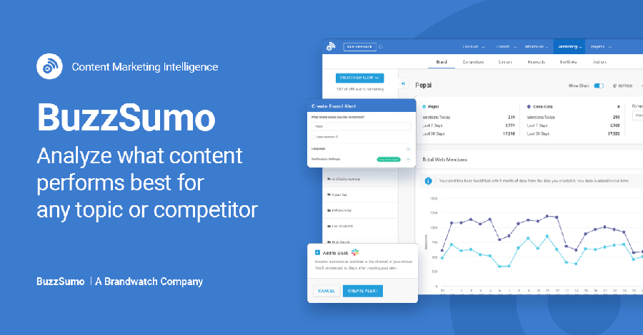 BuzzSumo - BackLink Checker Tool