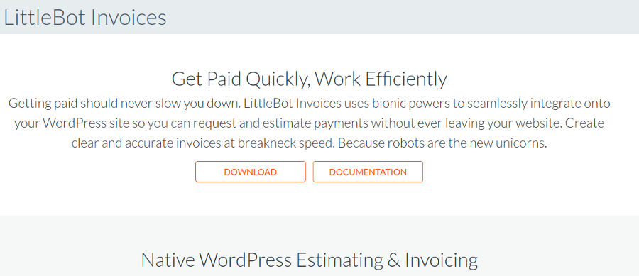 LittleBot Invoice - Plugin