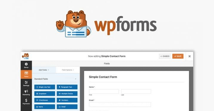 WPForms Best WordPress Plugin