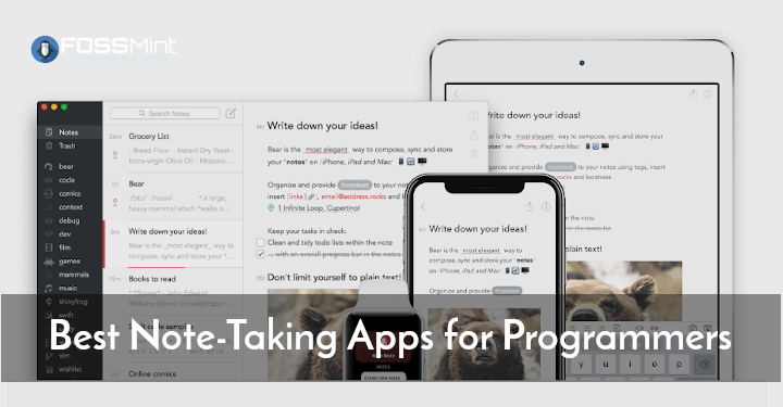 Best Note-Taking Apps for Programmers