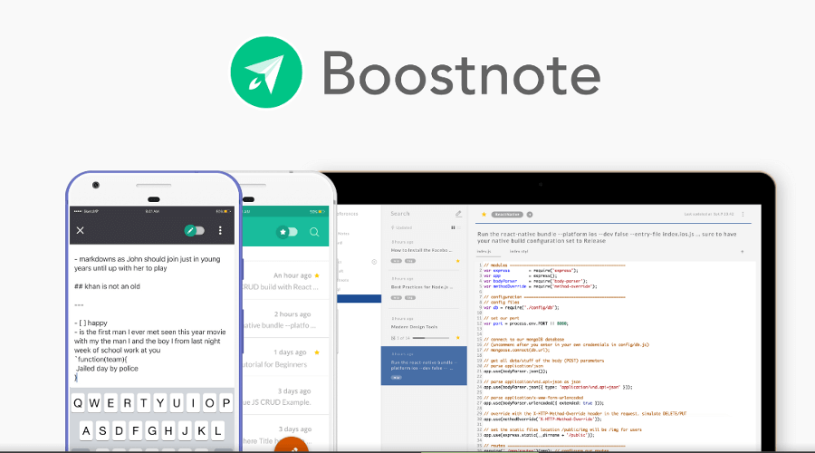 Boostnote - Note-Taking App