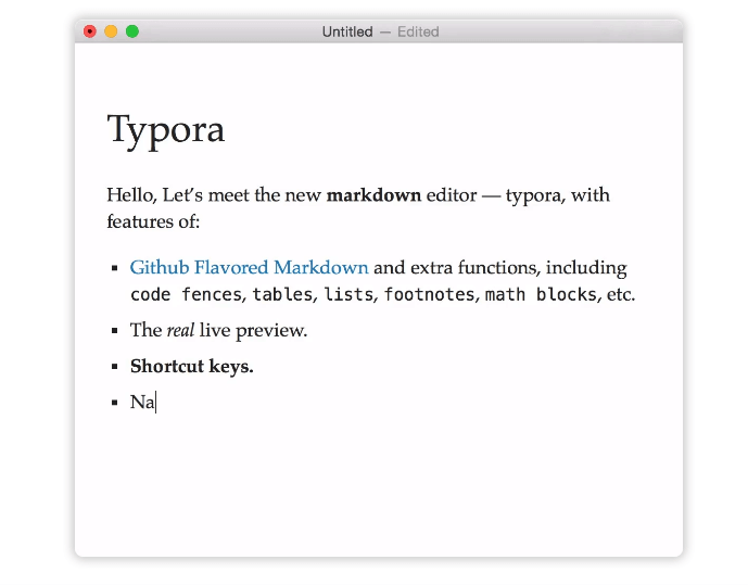 Typora - Note-Taking App