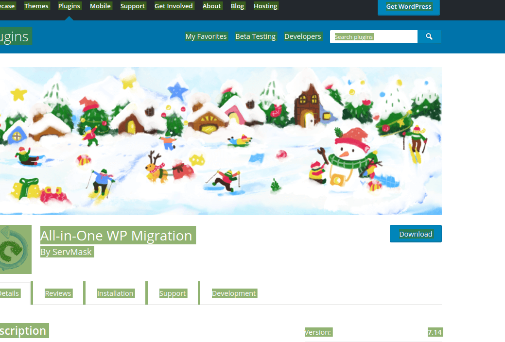 All in One WordPress Migration Plugin
