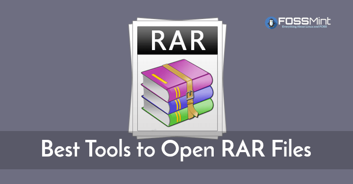 Best Tools to Open RAR Files
