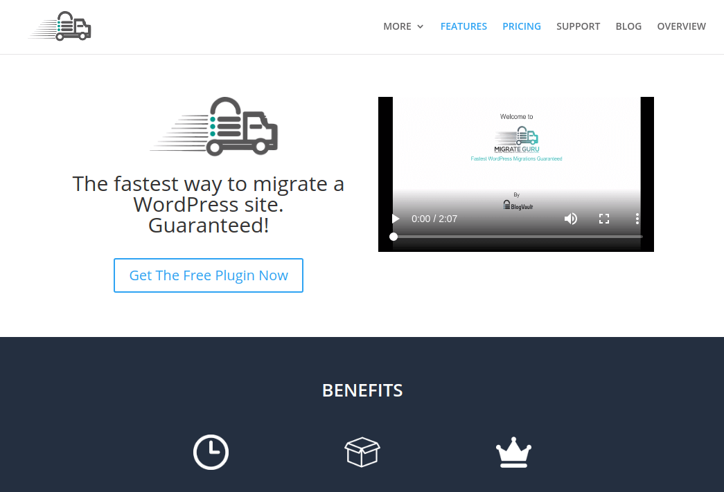 Migrate Guru - WordPress Migrate Plugin