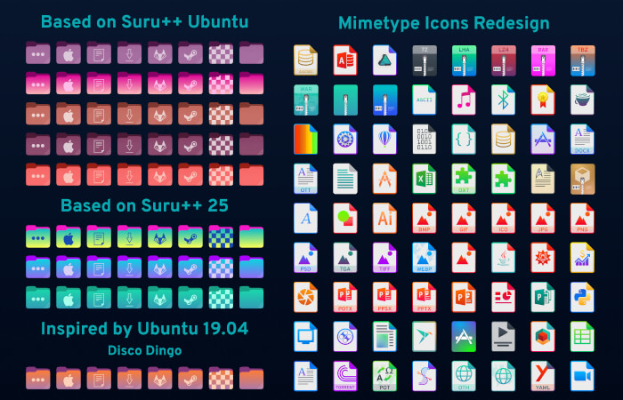 Suru Icons Theme
