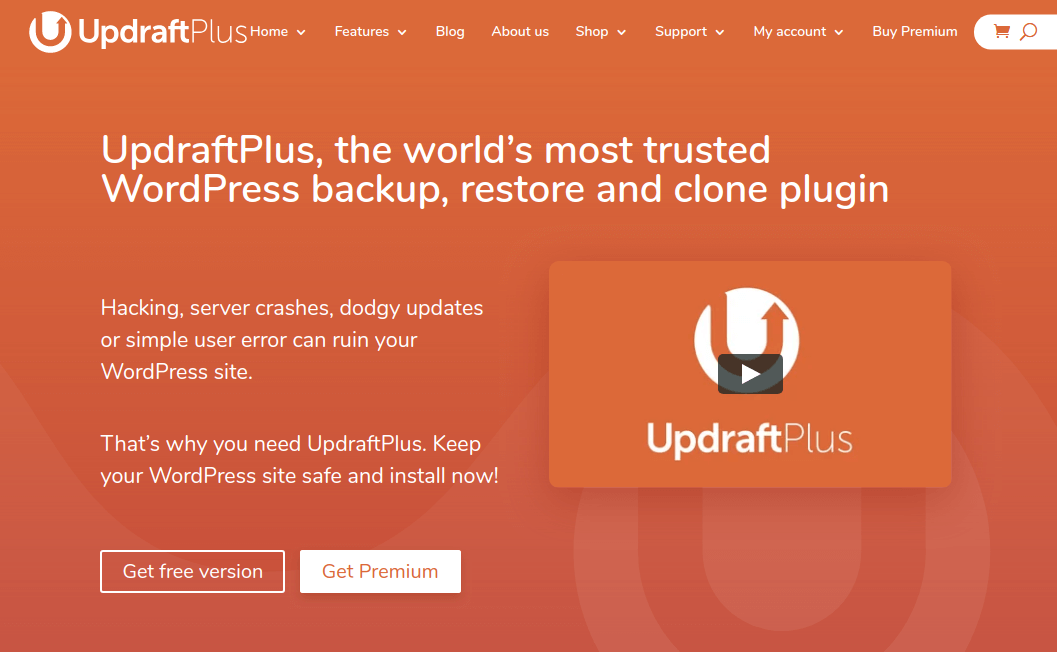 UpdraftPlus - WordPress Backup Restore and Clone Plugin