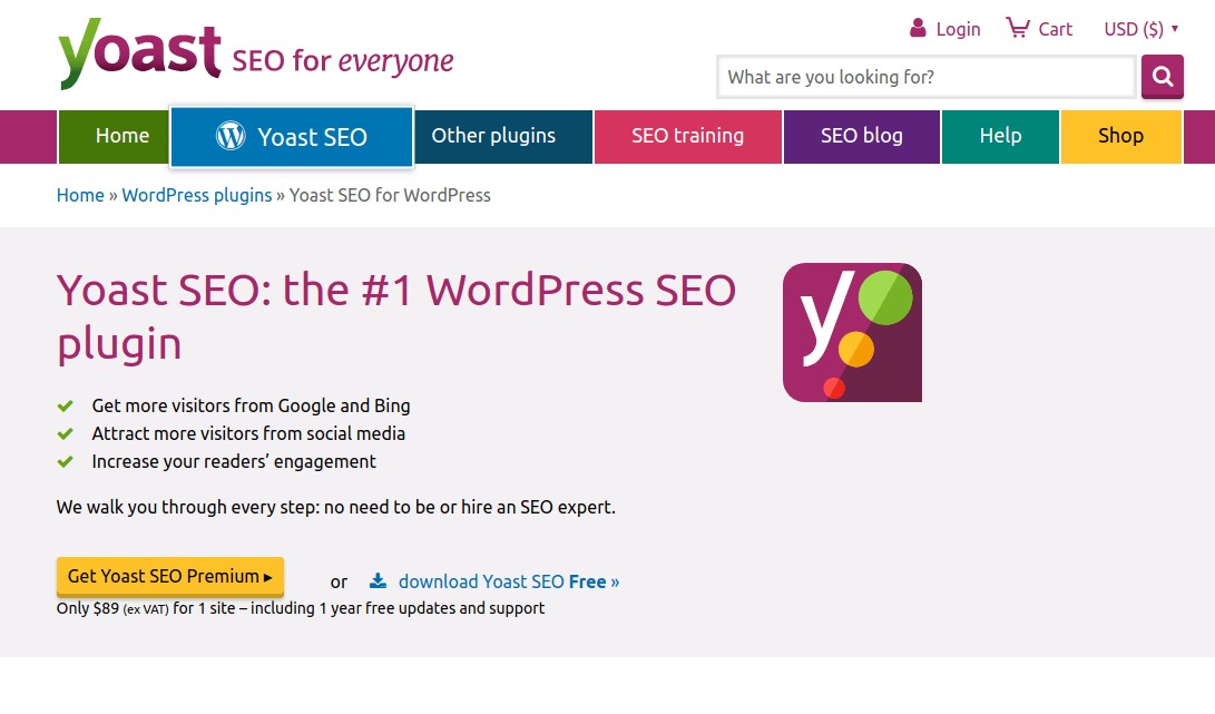 Yoast SEO Plugin for WordPress
