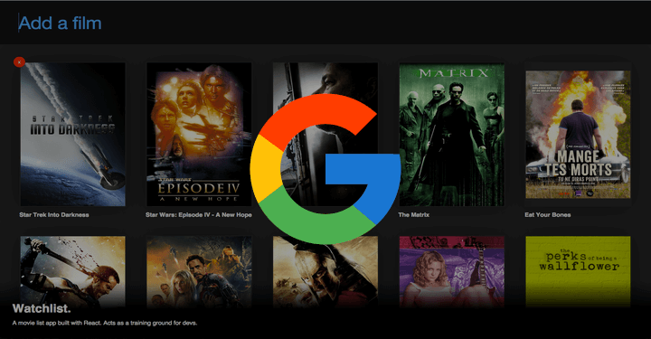 Add Movies to a Watchlist on Google