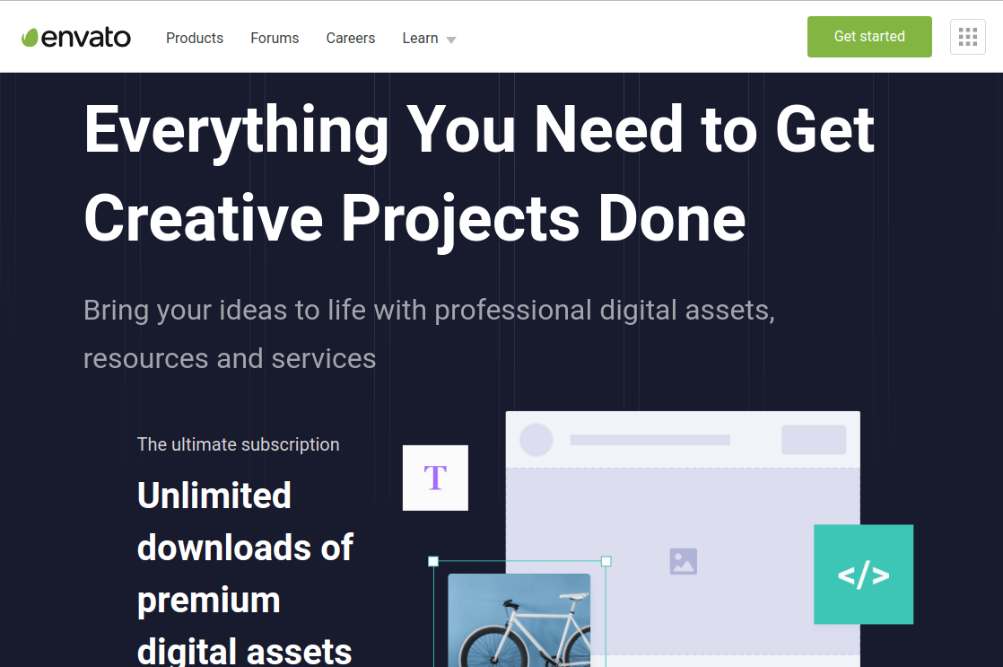 Envato Digital Assets and Services