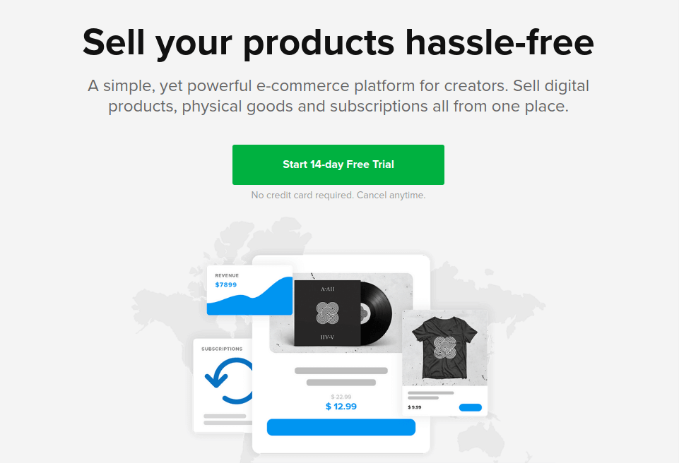 Sellfy - Sell Products Online Free