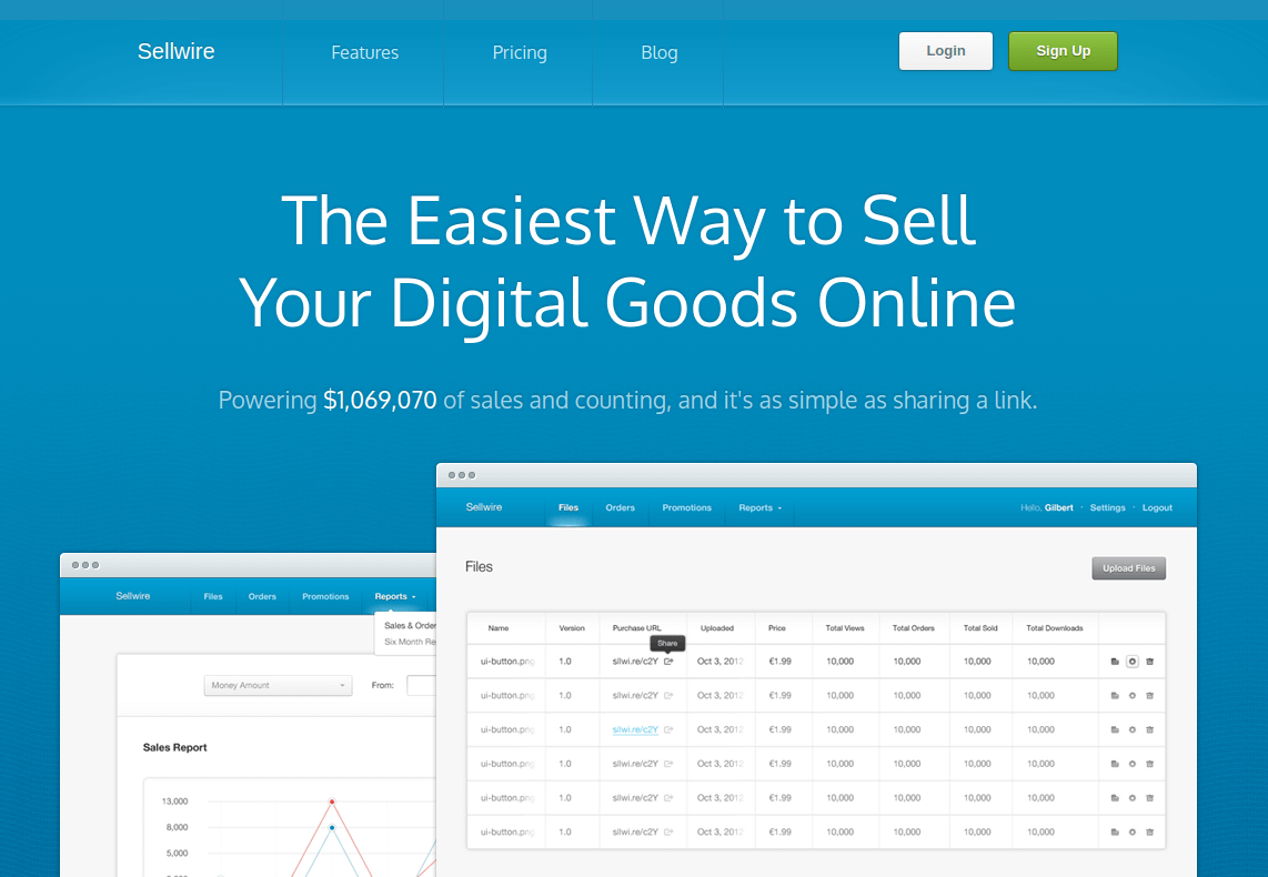 Sellwire - Sell Your Digital Goods Online