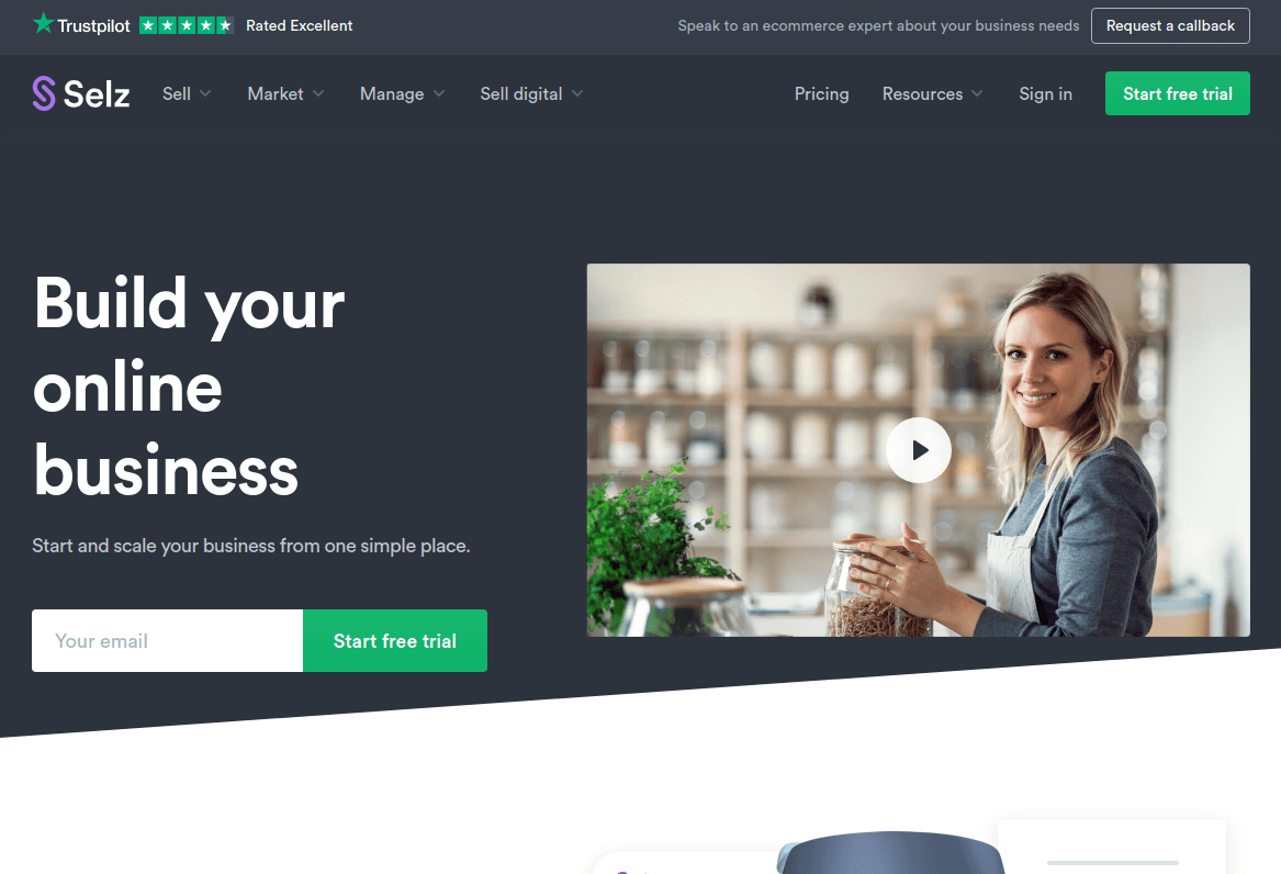 Selz - the Ecommerce Platform