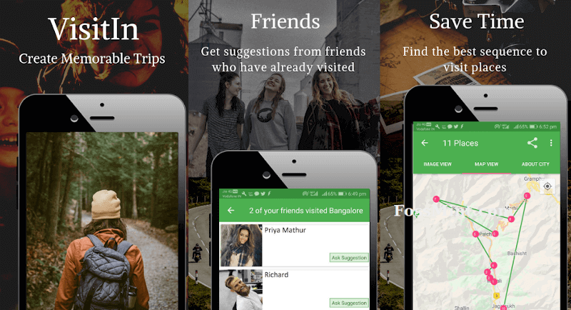 Trip Planner India - VisitIn The Travel App