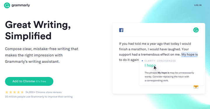 Grammarly Best English Writing Tool