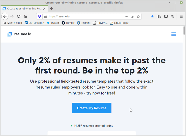 Resume.io - Resume Maker