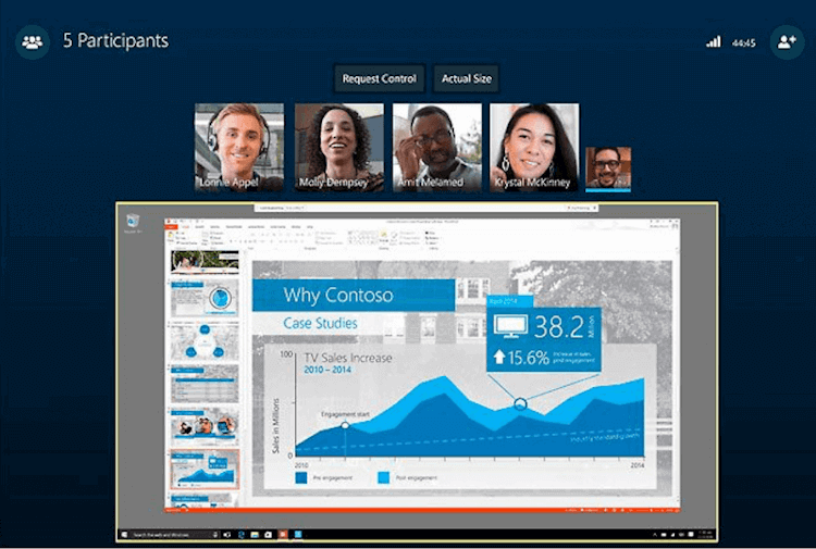 Skype Group Conference App