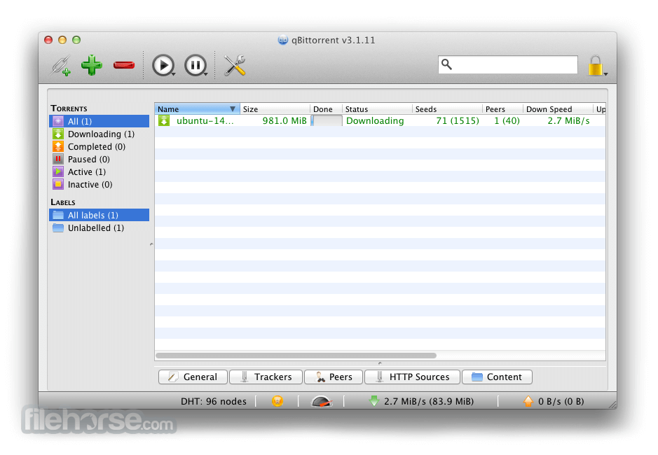 Bittorrent client for mac
