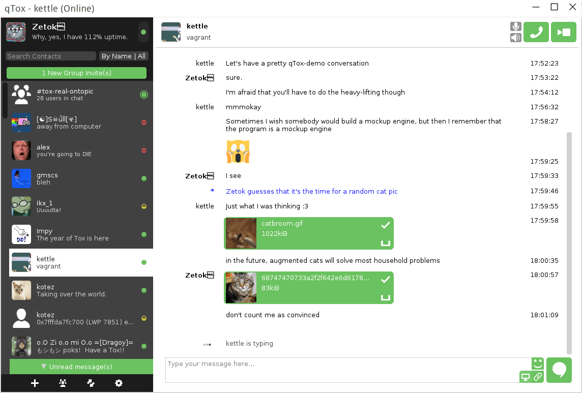 qTox - Instant Messaging and Video Calling