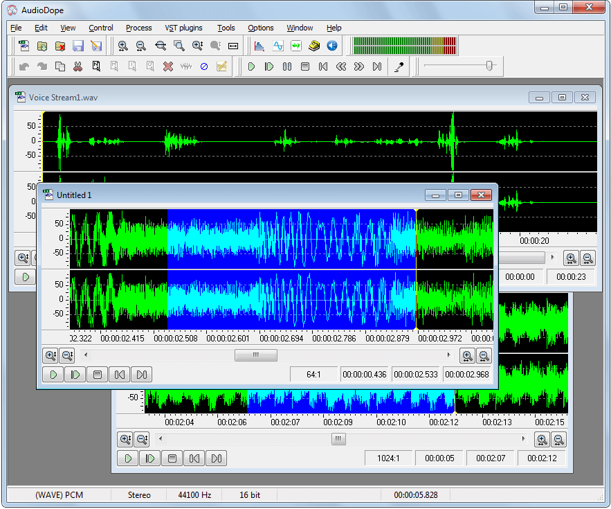 Audiodope - Best Audacity Alternative