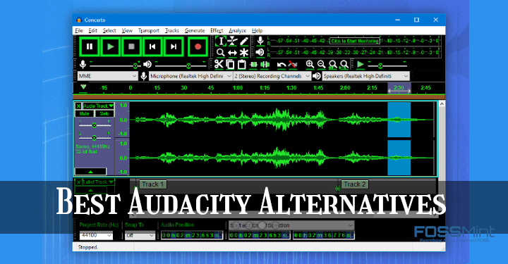 Best Audacity Alternatives
