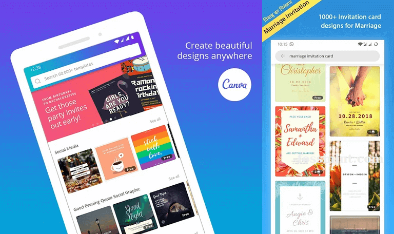 Canva - Android App Of May 2020