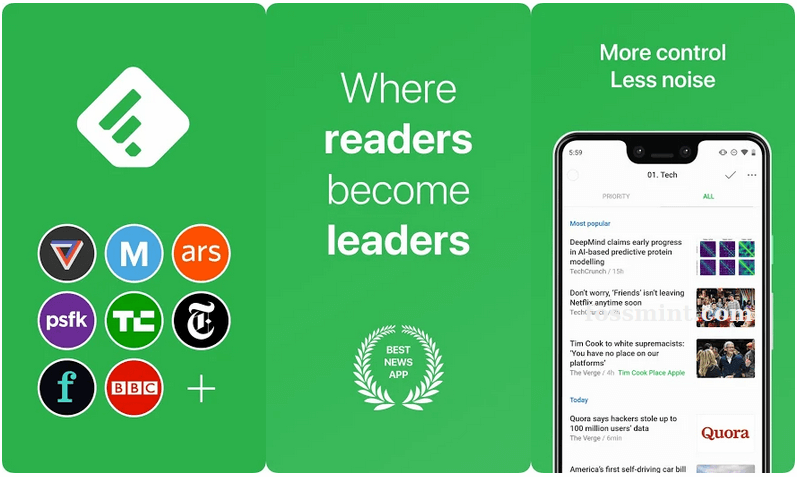 Feedly - Android App Of May 2020