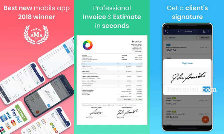 Free Invoice Maker - Invoicing App For Android